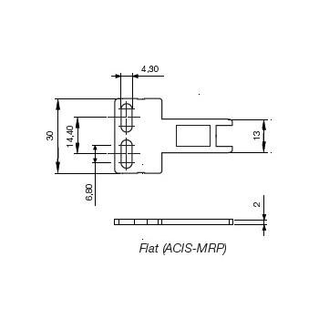 Atuador para Chaves de Intertravamento WEG ACIS-MRP