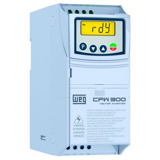 Inversor de Frequência WEG CFW300 - CFW300A07P3S2NB20