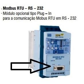 Módulo para comunicação RS232 - KRS232-SSW07