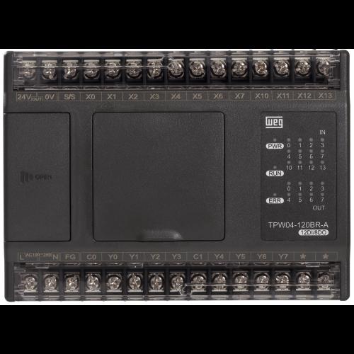 Controlador Lógico Programável WEG TPW04-120BR-A