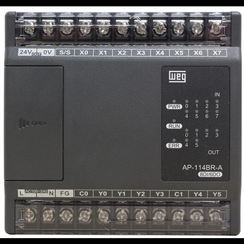 Controlador Lógico Programável WEG TPW04-114BR-A