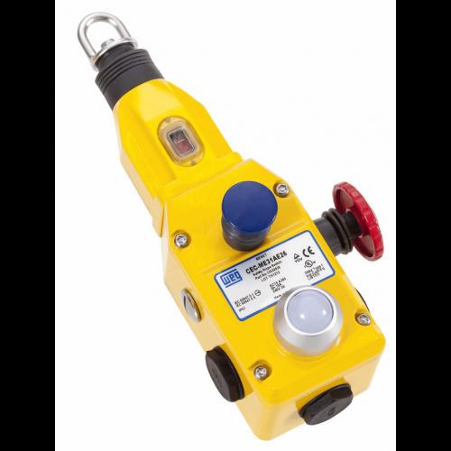 Chave de Emergência Acionada por Cabo CEC-ML22AE26