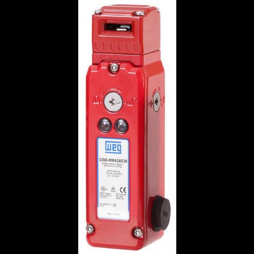 Chave de Intertravamento de Segurança com Solenoide WEG - CISS-MM42AE26