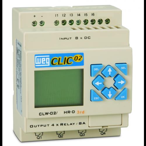 Controladores Lógico Programáveis (CLP) WEG - Clic02 - CLW-02 10HR-A 3RD