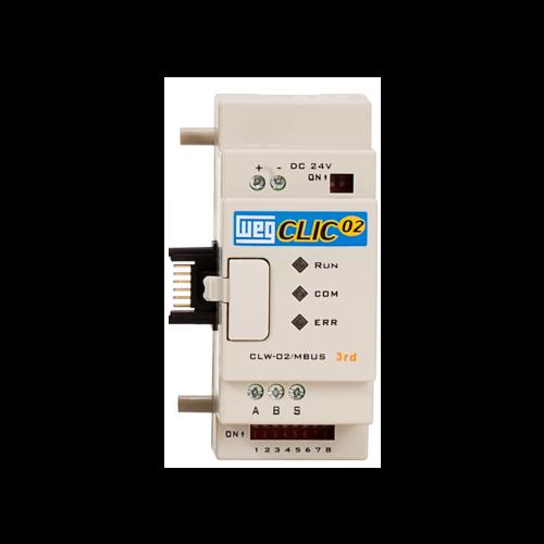 Unidade de Expansão Analógica (CLP) WEG-Clic02 - CLW-02 MBUS