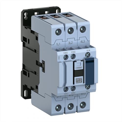 Contator de Potência Tripolar WEG - CWB80