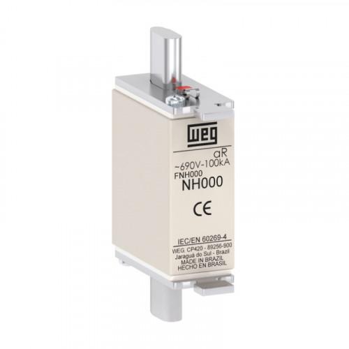 Fusível Ultrarrápido - Contato Faca - FNH000-125K-A WEG
