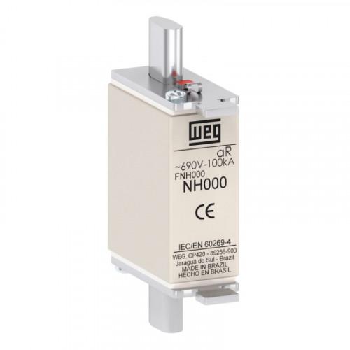 Fusível Ultrarrápido - Contato Faca - FNH000-25K-A WEG