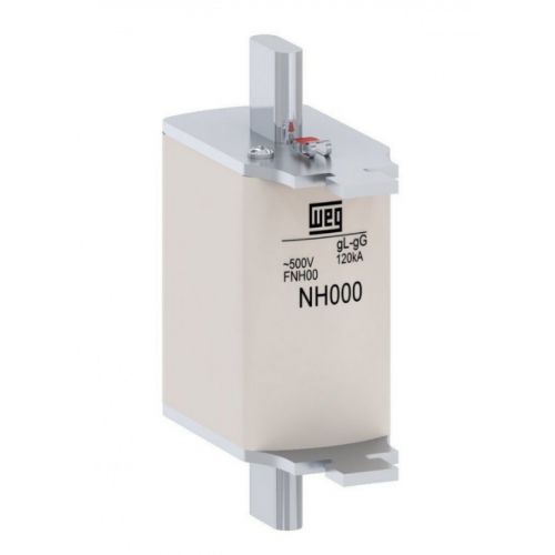 Fusível Retardado - Contato Faca FNH000-20U WEG