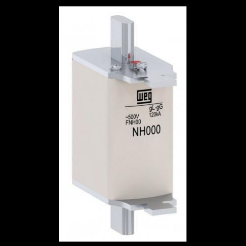 Fusível Retardado - Contato Faca FNH000-25U WEG