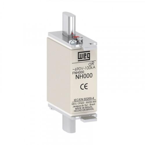 Fusível Ultrarrápido - Contato Faca - FNH000-100K-A WEG