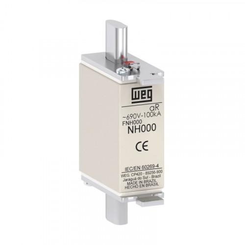 Fusível Ultrarrápido - Contato Faca - FNH000-63K-A WEG