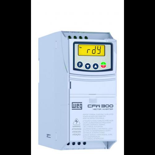 Inversor de Frequência WEG CFW300 - CFW300A06P0S1NB20