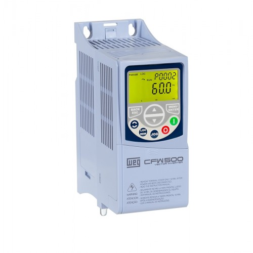 Inversor de Frequência WEG CFW500 - CFW500A02P6B2NB20