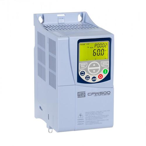 Inversor de Frequência WEG CFW500 - CFW500B07P3B2DB20