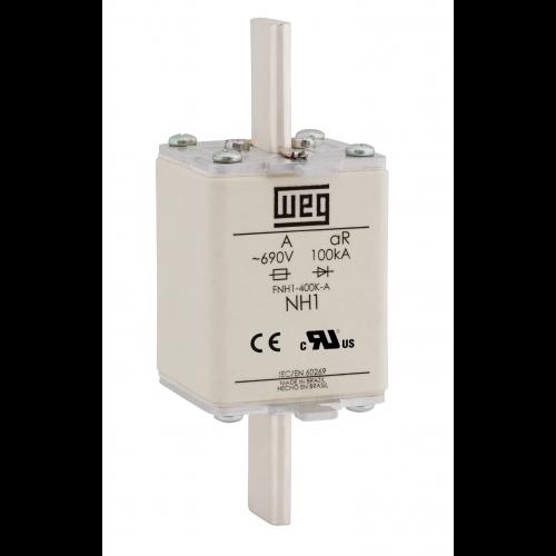 Fusível Ultrarrápido - Contato Faca - FNH1-125K-A WEG