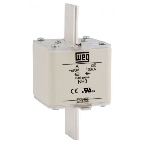 Fusível Ultrarrápido - Contato Faca - FNH3-400K-A WEG