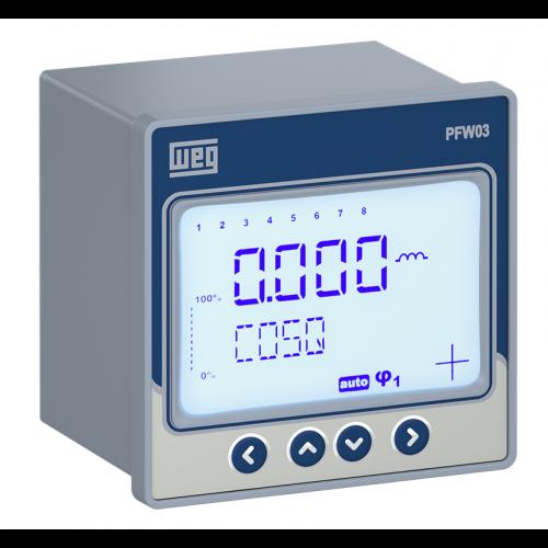 Controlador Automático do Fator de Potência WEG - PFW03-M08