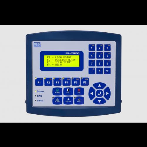 Controlador Lógico Programável WEG PLC300HP-H3
